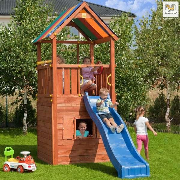 Къщичка под кула Hide and Play